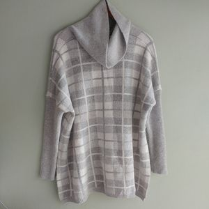 89th and Madison cowlneck sweater